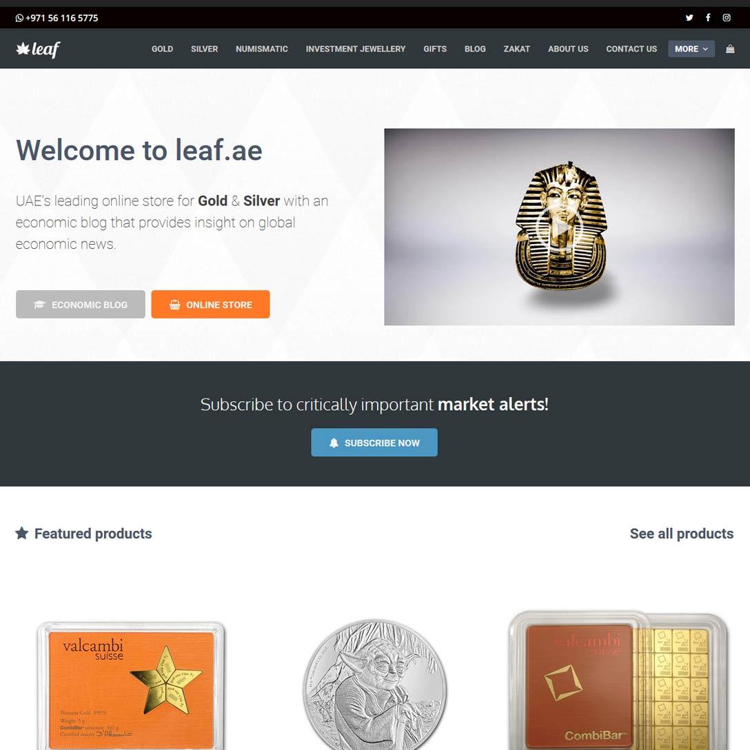 Eitelkeit Ae Trade Online Dekoration Von Leaf.ae